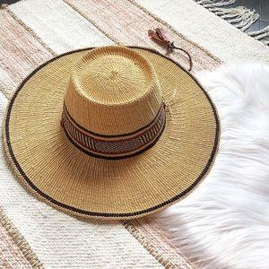 Unique Woven Straw Boho Beach Hat
